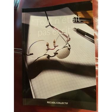 recueil, atelier écriture, Rennes, Talitha Koum, Anne Auriault